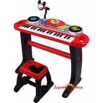 Teclado Set Efecto Instrumento Microfono Disney Winfun 68dnl