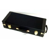 Estojo Case P/sax Alto Modelo Master Luxo +paleta De Brinde