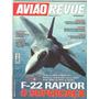 Avião Revue N° 56 - F 22 Raptor - Avião Anfíbio Beriev-103