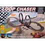 Pista Eléctrica Loop Chaser 6.5 Mts Con Giros