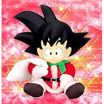 Goku Traje De Navidad Figura De Vinilo Entrega Inmediata
