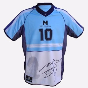 Camiseta Diego Maradona. Edicion Limitada. Firma! Talle S -   799 ae51f3323206c