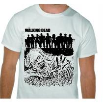 Camiseta Estampada Seriado The Walking Dead -super Barato