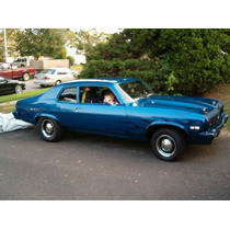 68-74 Chevy Nova Empaques Hule Ventanas Puertas Cajuela 12pz