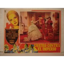 Antonio Aguilar , Cuatro Contra El Imperio , Cartel De Cine