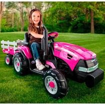 Tractor Electrico Infantil Peg Perego Ihmagnum Todo Terreno