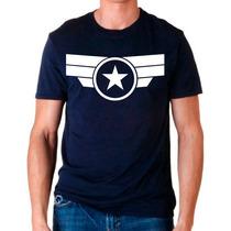 Playera Capitan America Marvel Comic Muchos Modelos Catalogo