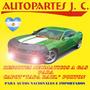 Resortes Neumáticos Volkswagen Polo Tapa Baul 96/00