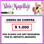 Orden De Compra Articulos Varios A Eleccion Ydnis-maquillaje
