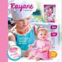 Boneca Bebê Rayane Papinha Bambola