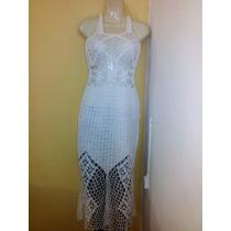 Excelente Confección De Mujer ,crochet , Hilaza De Algodon