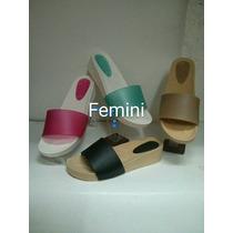 Femini / Confort / Sandalia / Dama/ Plastico