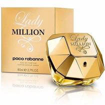 Perfume Lady Million Paco Rabanne 100 Original Lacrado 80 Ml