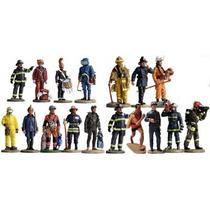Bombeiros Do Mundo Coleção Delprado Chumbo Miniatura