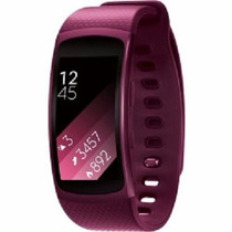 Reloj Samsung Gear Fit 2 Contra Agua Touch Gps Wi-fi Rosa S