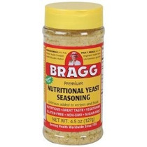 Bragg Levadura Nutricional Condimento Premium 4,5 Onza (2 Bo