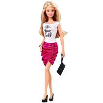Barbie Fashionista Be Yourself Camisa Y Falda - Rosa