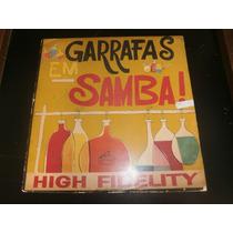 Lp Garrafas Em Samba, Zacarias Filho, Disco De Vinil Raro