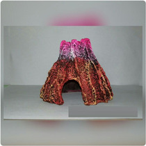 Volcan Decoracion Para Peceras De Resina Kit Completo