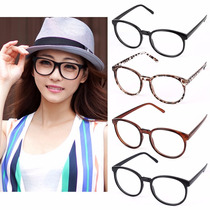 Armação Óculos Retrô E Lentes Transparentes Para Grau