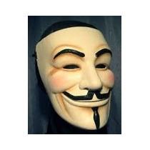 Mascara De V De Venganza - Anonimus Realizada En Goma Eva