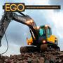 Vidro Parabrisa Escavadeira Hidraulica Volvo 360°