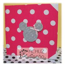 Libro De Firmas Mickey Minnie Frozen Cumpleaños Baby Shower