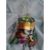Pedras Semi Preciosas Mistas Roladas 2 A 3,5 Cm - 1 Kg