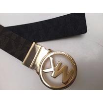 Cinto Michael Kors Original 100% De Dama Hebilla Oro O Plata