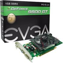 Placa Geforce 9800gt 1gb Ddr3 256bits Evga Na Caixa Lacrada!