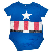 Body Mameluco Niños Bebé Capitán América Nighty-night