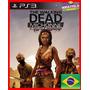 The Walking Dead Michonne Ps3 Psn Completo Portugues Br