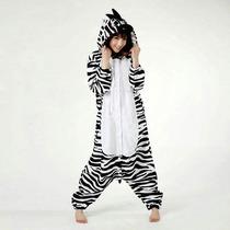 Pijama Disfraz Kigurumi De Cebra Kawaii