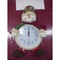Reloj Decorativo Navideño De Navidad