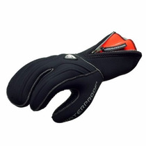 Guantes New Tusa Waterproof 7mm 3-finger Stretch Neoprene