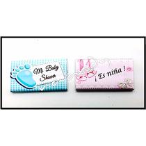 10 Chocolates Personalizados Vaquita Baby Shower Bebe Boda