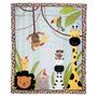 Lambs & Ivy Safari Cobertor De Cuna