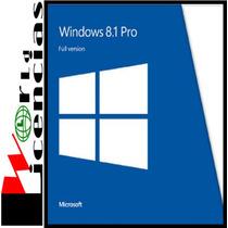 Windows 8.1 Pro Professional Licencia Original Oem Para 1 Pc