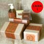 Caixa De Presente N.1 Com 3 Sabonetes Naturais