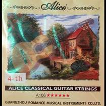 Cuerda Cuarta (re) Para Guitarra Clasica