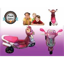 Moto Scooter A Batería Recargable Luces Y Sonido Garantia