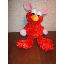 Elmo Sesame Street Fantasia Coelho - 40cm