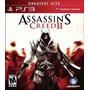 Assassins Creed 2 Ps3, Greatest Hits, Nuevo Y Sellado