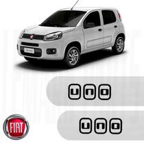 Friso Lateral Fiat Uno 12/16 4 Portas Prata Bari Top D+