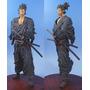 Miyamoto Musashi- Vagobond - Samurai - Estátua - Rara
