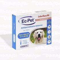 Ec Pet 21a 40kg Anti Pulgas/carraptos/piolhos E Sarna Otodéc