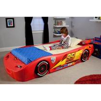Disney - Cars Rayo Mcqueen Cama Doble Con Luces