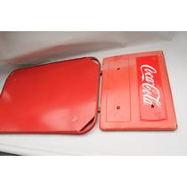 Coca Cola Anuncio Antiguo Lamina Porta Vintage Caballete