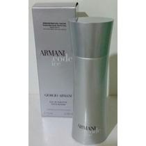 Armani Code Ice Edt - Por Homme - 75ml 100% Original Tester