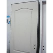 Puerta De Interior Crafmaster-masonite 70x200 Marco Chapa 18